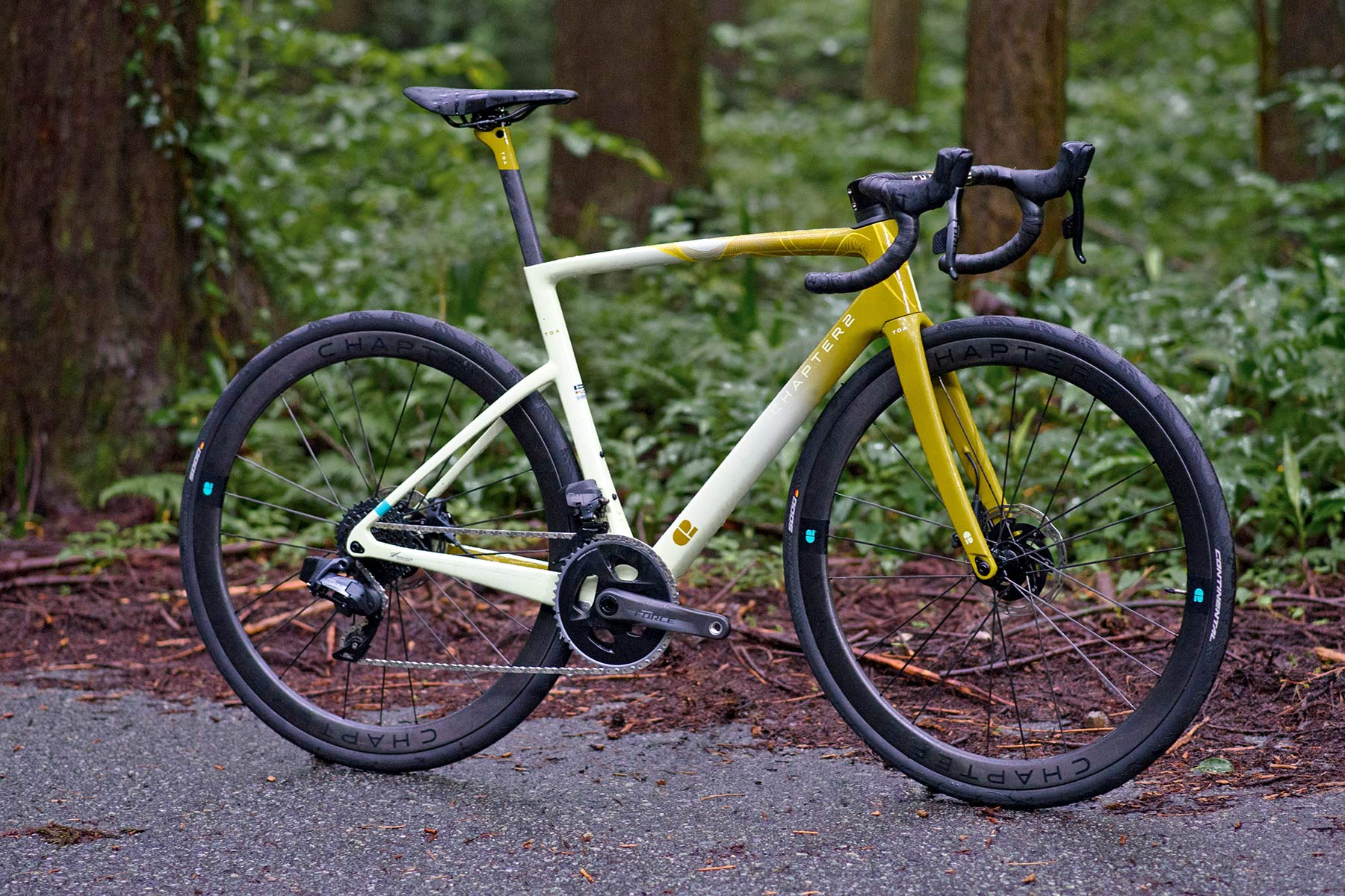 Chapter2 TOA all-road bike, fully integrated versatile aero carbon road bike