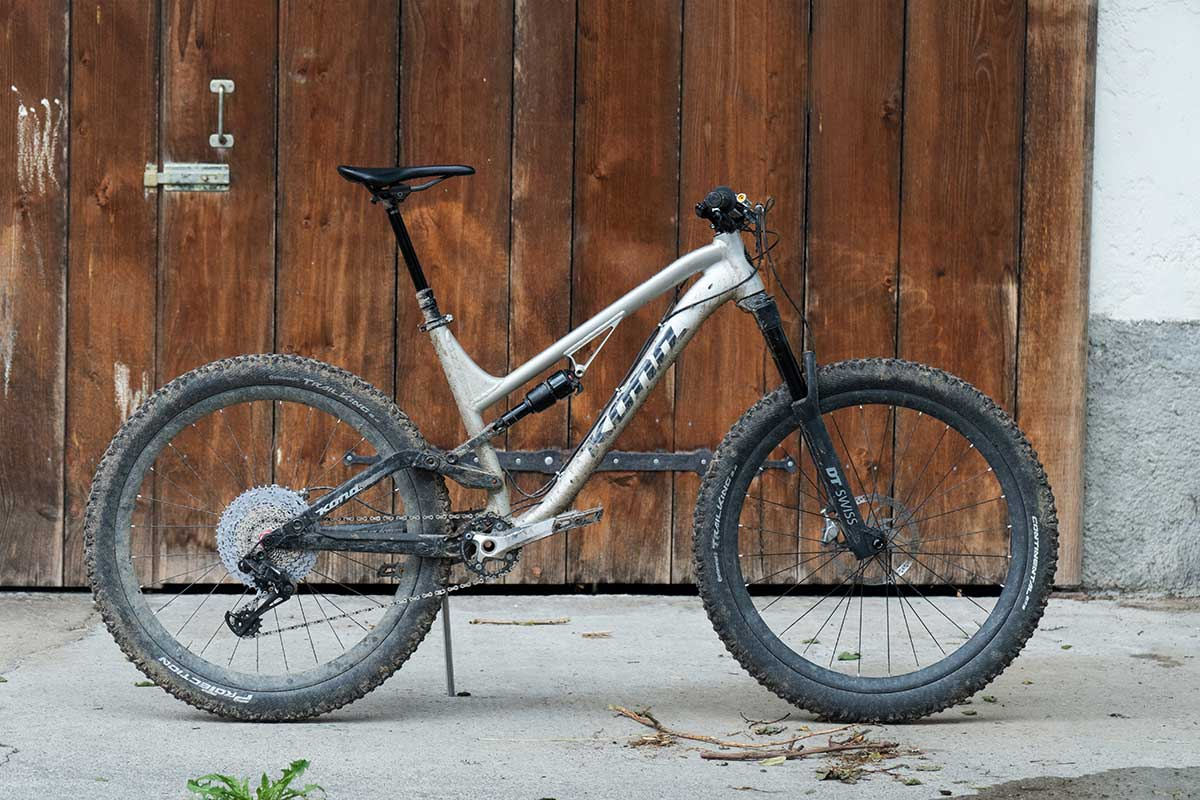 kona with rockshox reverb and drop best offset saddle clamp