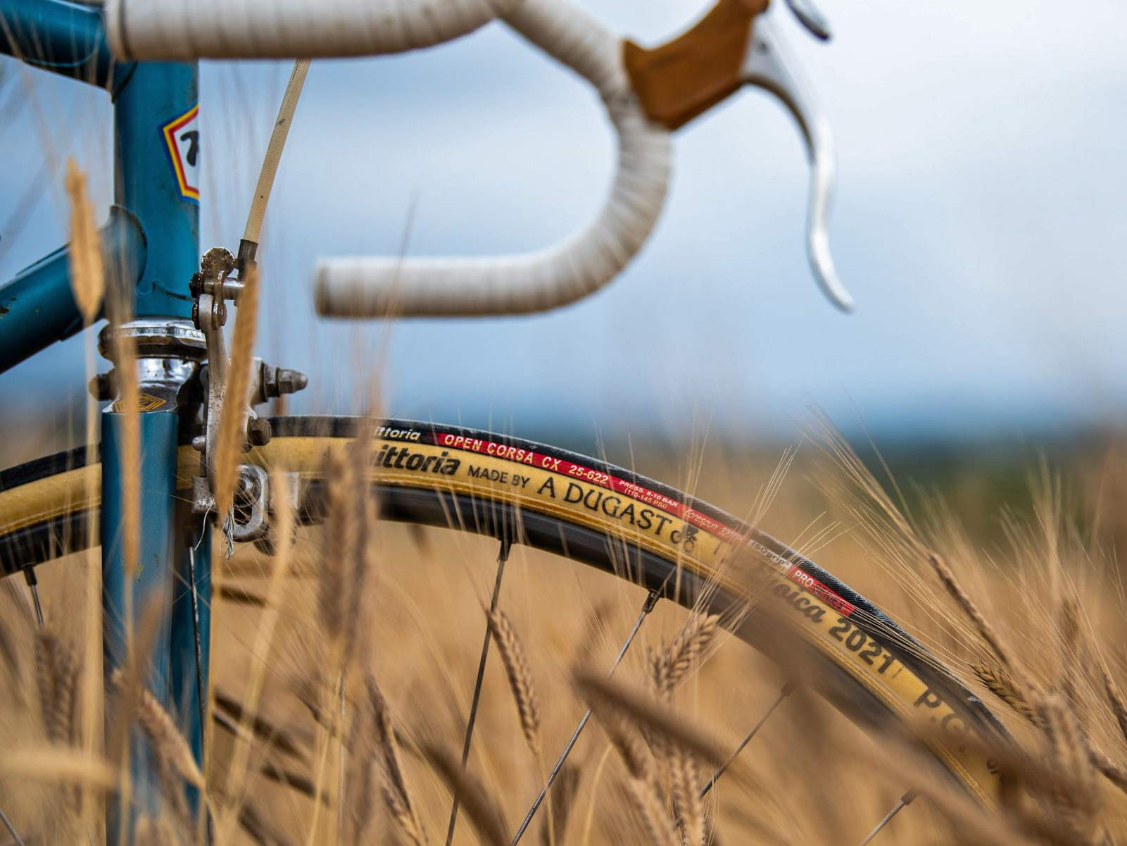 Vittoria made by A Dugast L Eroica limited edition 25mm retro vintage tubular road bike tires,field