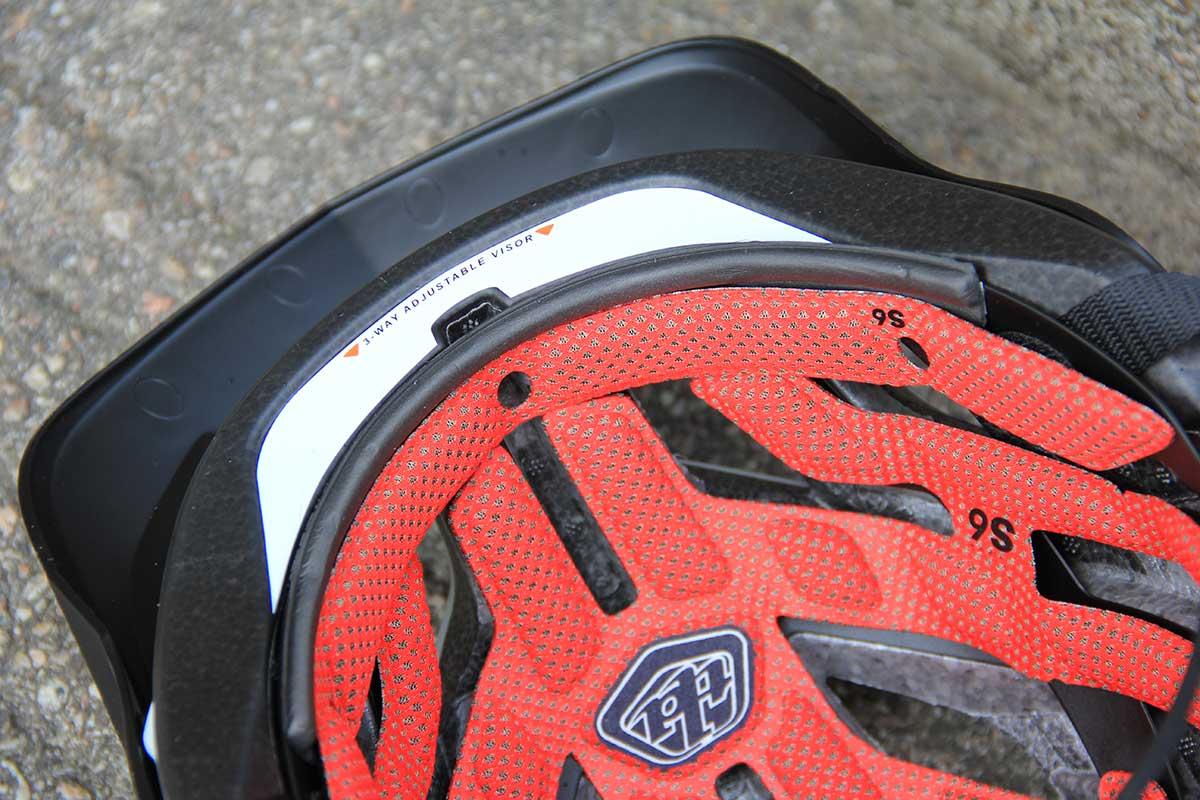 troy lee a3 mips mtb helmet ionic comfort liner