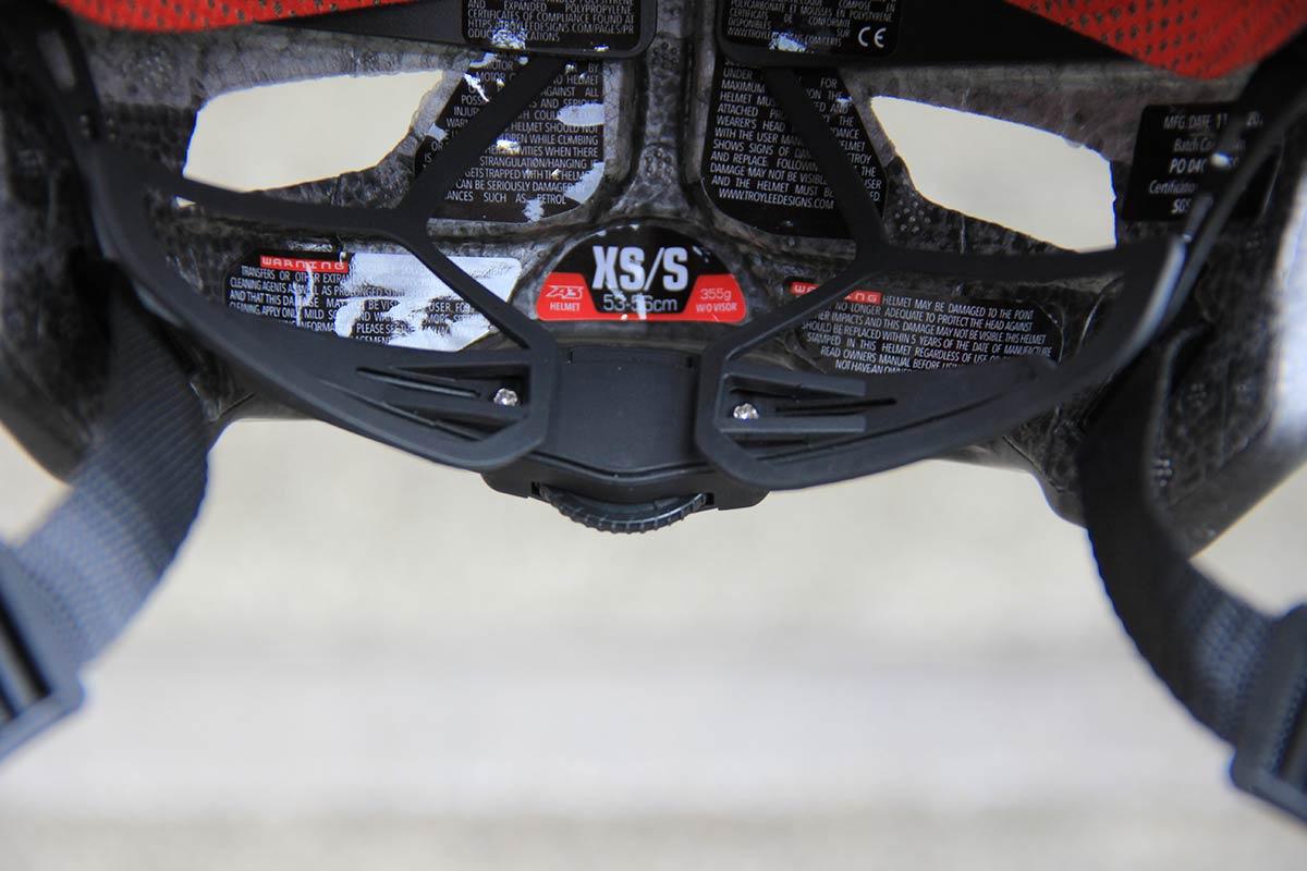 troy lee a3 mips mtb helmet retention system