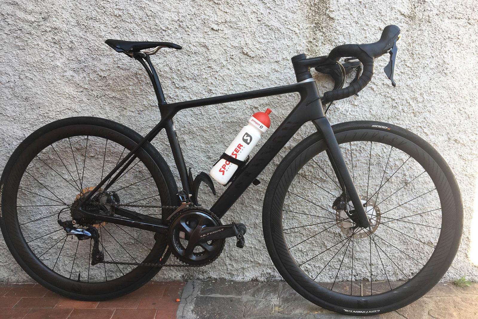 gabriele boassa everesting bike build details