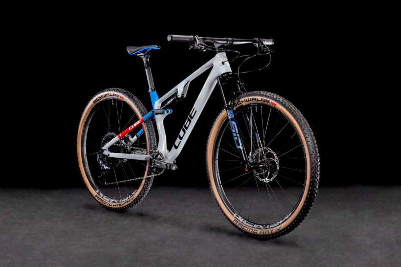 2022 Cube AMS Zero99 C:68X SL 29, lightweight carbon XC Marathon Trail mountain bike, Team Edition