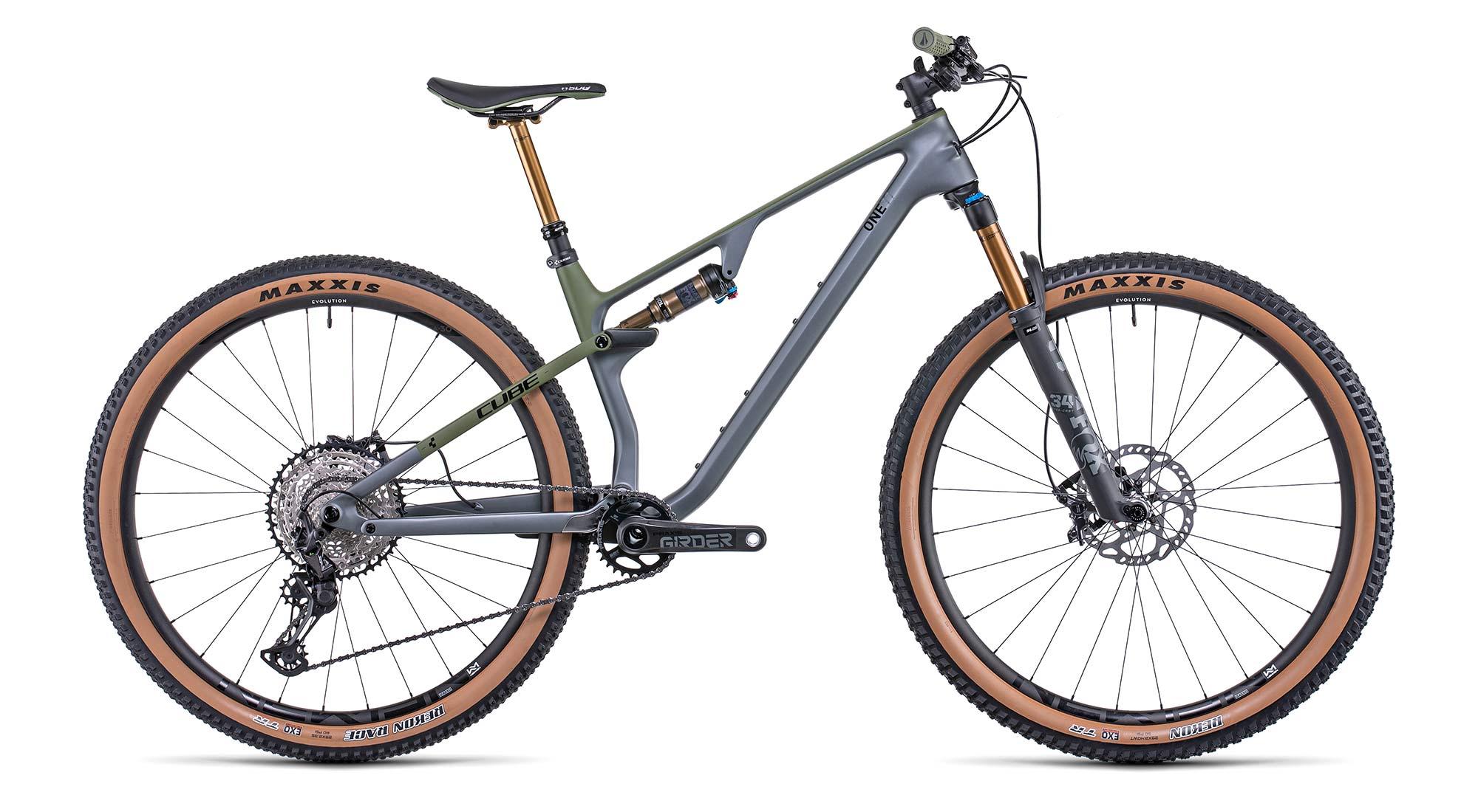 2022 Cube AMS One11 C:68X 29, lightweight carbon XC Marathon Trail mountain bike,TM complete
