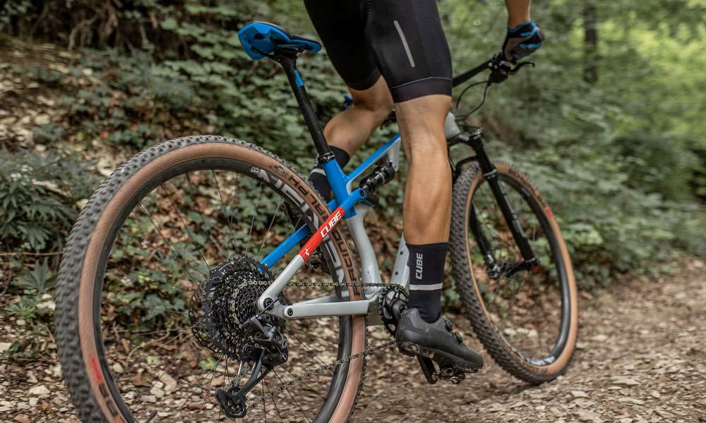 All-new 2022 Cube AMS lightweight C:68X carbon XC Marathon Trail mountain bikes,trail rear
