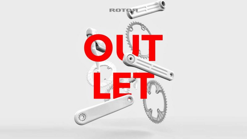Rotor Outlet, discounted marked-down powermeters cranksets chainrings Qrings