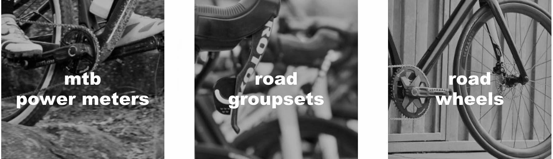 Rotor Outlet, discounted marked-down powermeters cranksets chainrings Qrings MTB road groupsets wheels