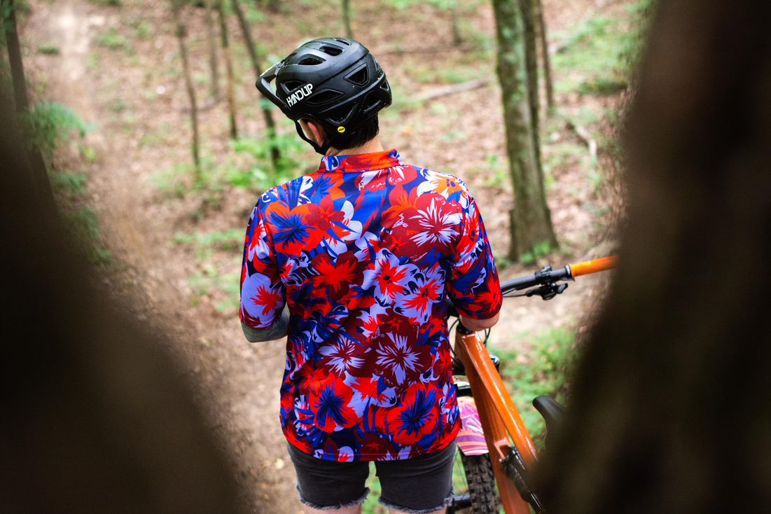 handup x pbr button up jersey
