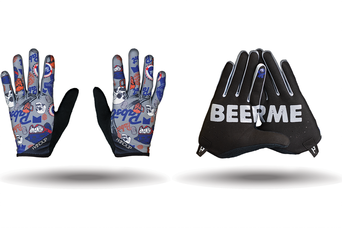 pabst blue ribbon handup gloves