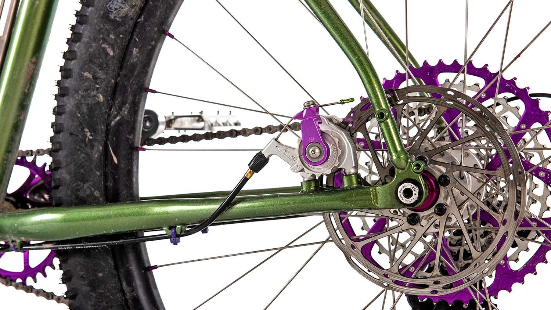 Tanglefoot Moonshiner MTB, 27.5+ rigid steel dropbar adventure touring bikepacking mountain bike,disc brakes