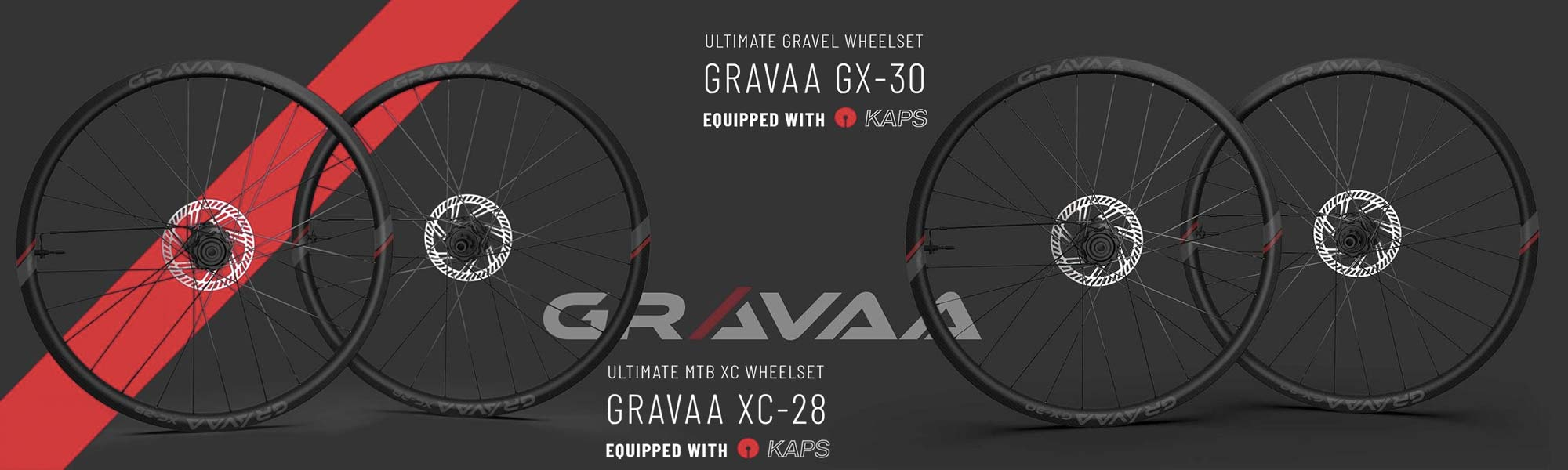 Gravaa KAPS lightweight on-the-fly tire pressure adjustment, wireless TPMS, XC or gravel
