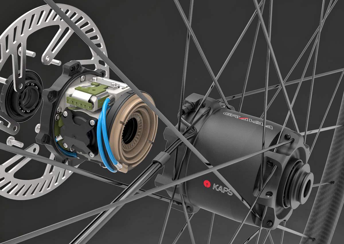 Gravaa KAPS lightweight on-the-fly tire pressure adjustment, wireless TPMS, inside details