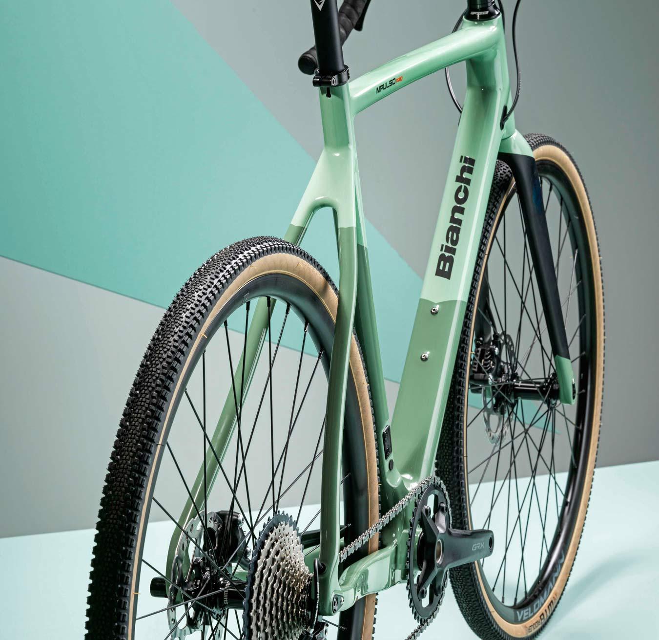 2022 Bianchi Impulso Pro carbon gravel bike, Zolder Pro CX cross cyclocross bike reborn,rear end