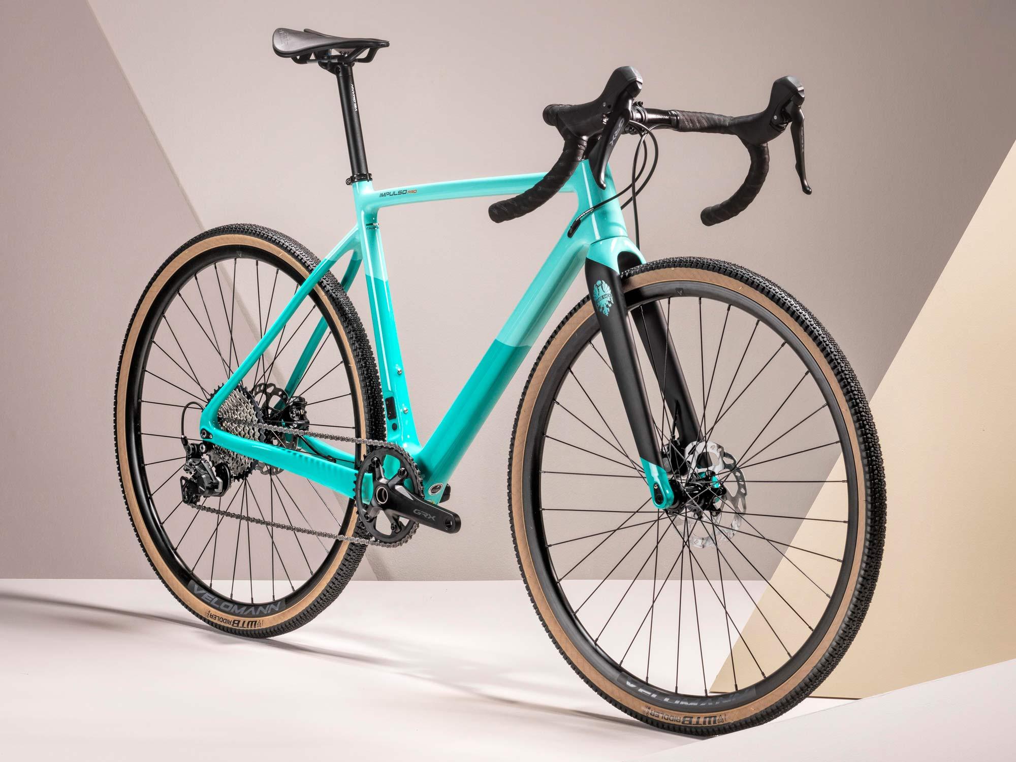 2022 Bianchi Impulso Pro carbon gravel bike, Zolder Pro CX cross cyclocross bike reborn,angled complete