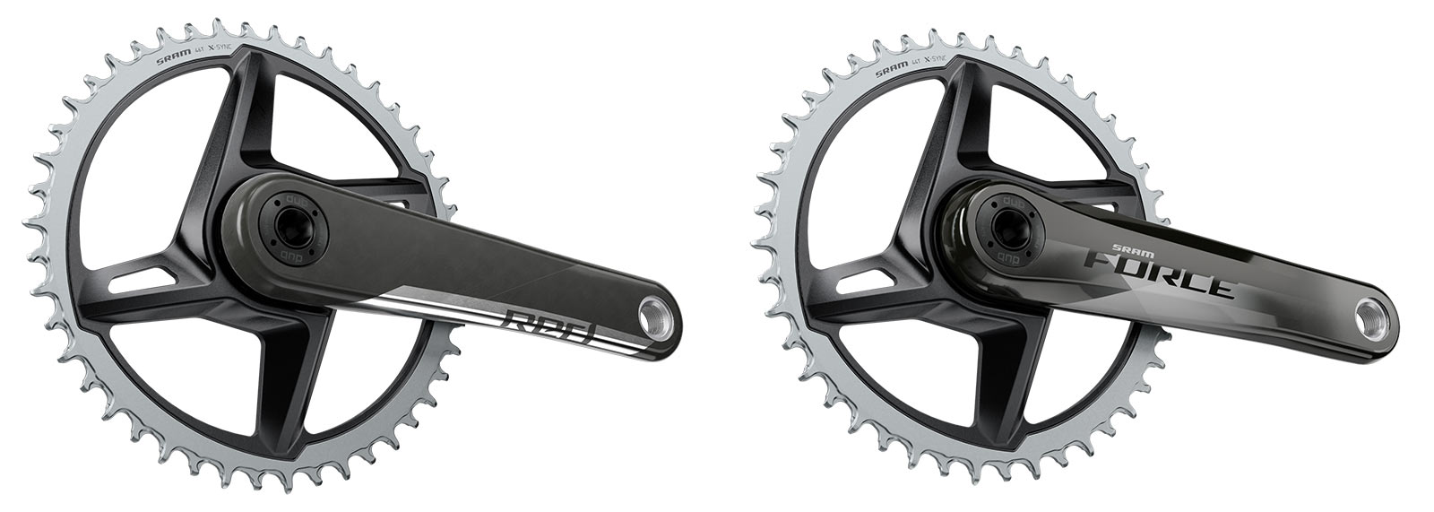 sram 1x gravel bike chainrings for red and force carbon cranksets