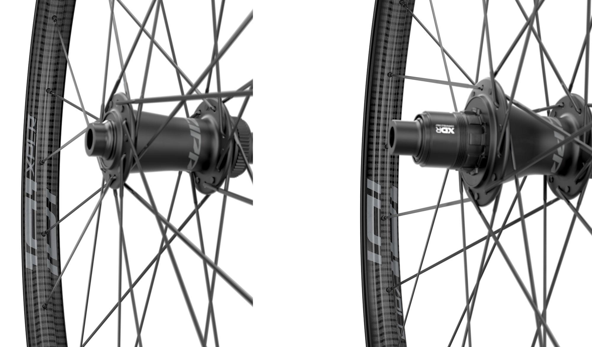 zipp 101 xplr gravel wheels closeup of hubs
