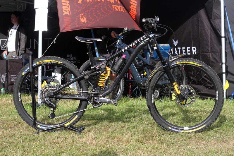 matt stuttard pro bike check privateer 161 ews enduro race bike
