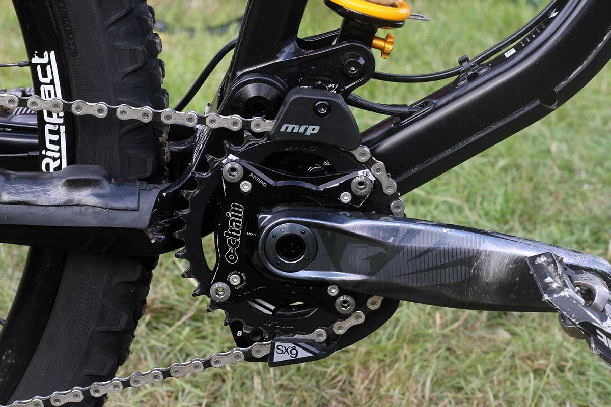 matt stuttard privateer 161 pro bike check ochain 6 degree float