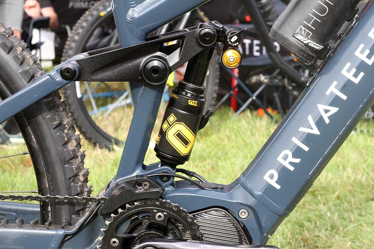matt stuttard privateer e-161 pro bike check ohlins air shock