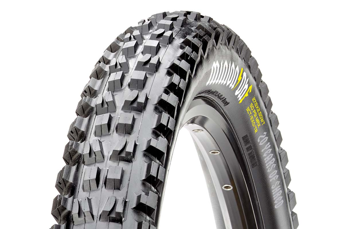 maxxis minion dhf 20 year anniversary limited edition heavy metal graphics