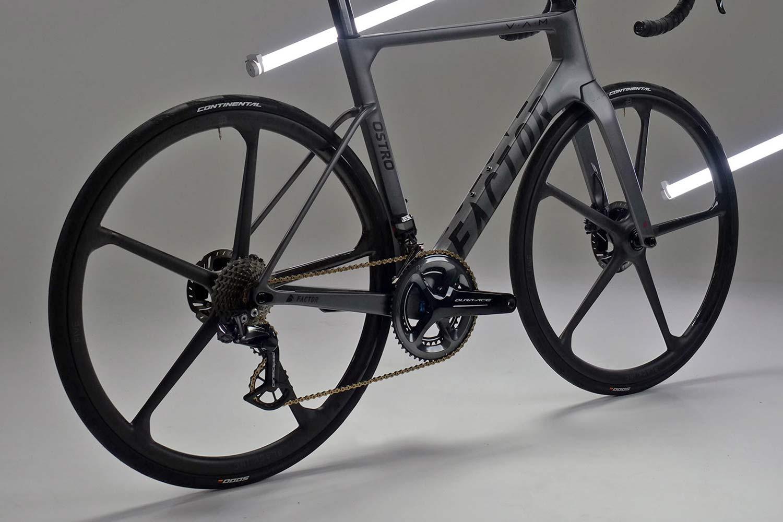 Black Inc FIVE aero carbon 5-spoke tubeless disc brake road bike wheels,Factor Ostro VAM