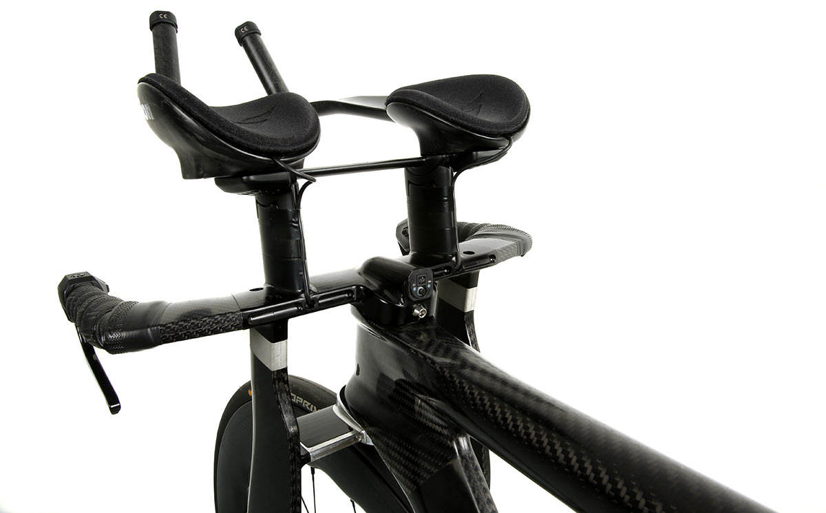 hope hb.tt headtube woven carbon time trial bike aerodynamic