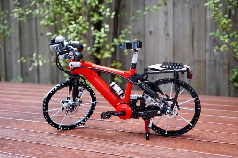 working lego bicycle concept from sleepycow