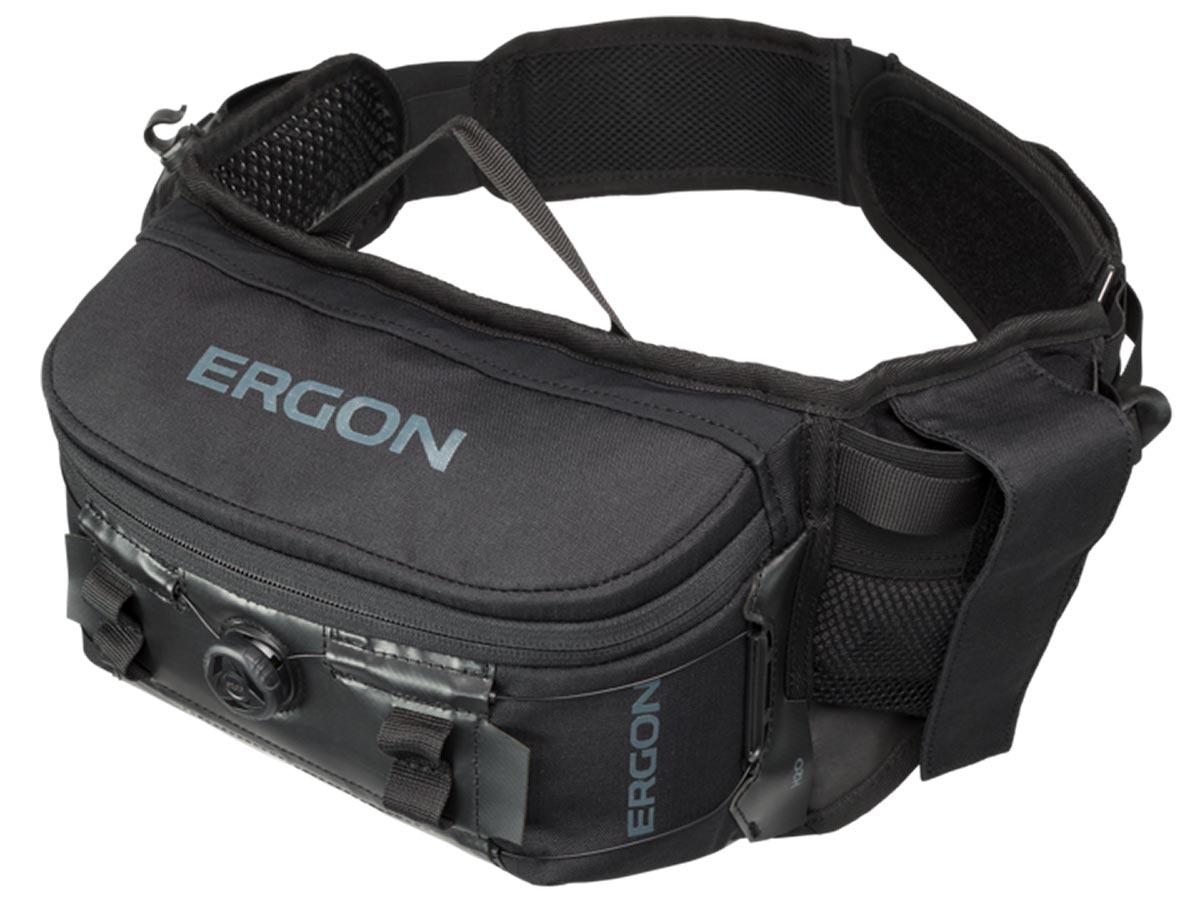 ergon ba hip pack mtb black dial compression