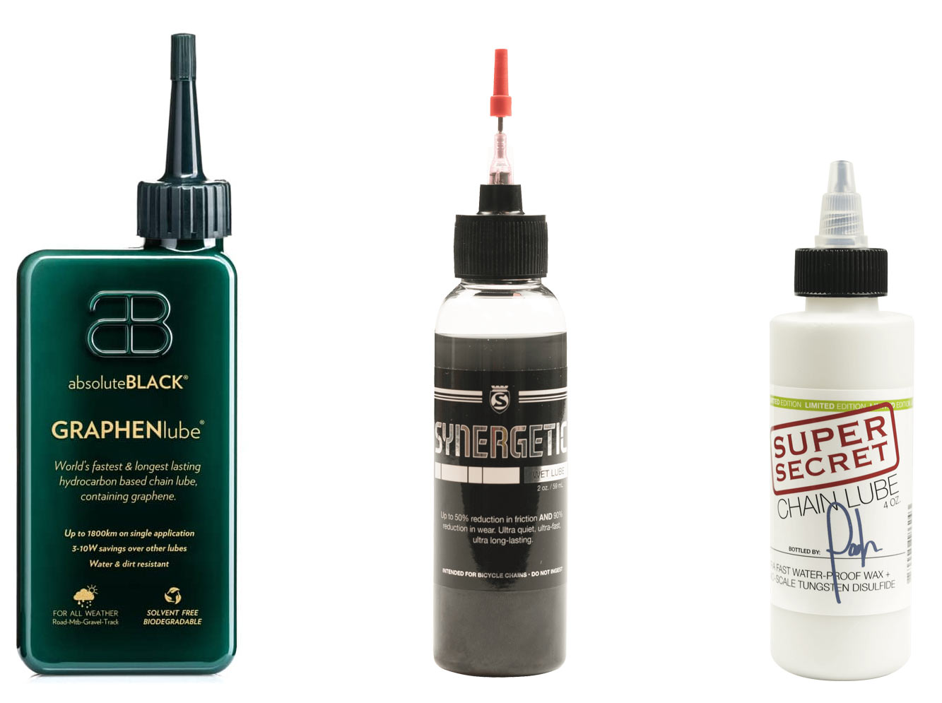 the very best premium chain lubes from absoluteblack and silca