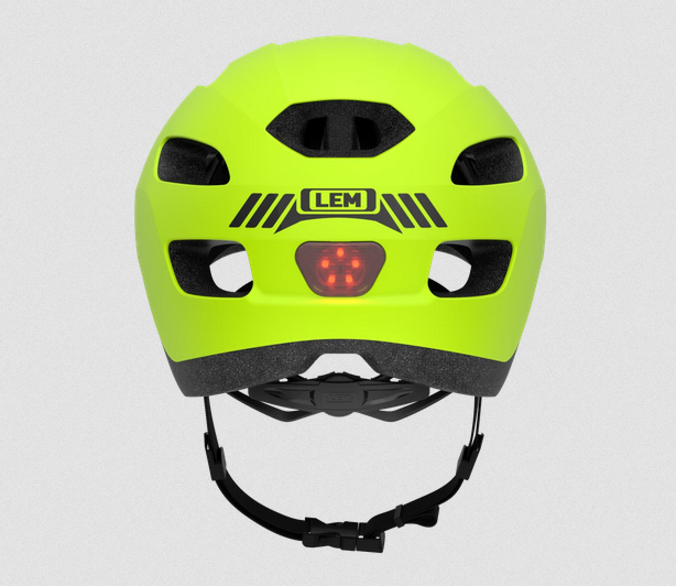helmet with LED built in