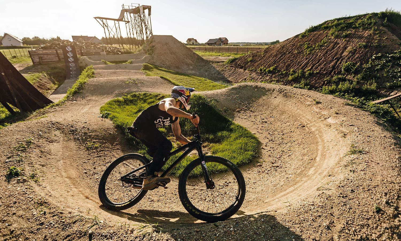 Szymon Godziek wild Red Bull Backyards on NS Bikes, photo by Piotr Staron
