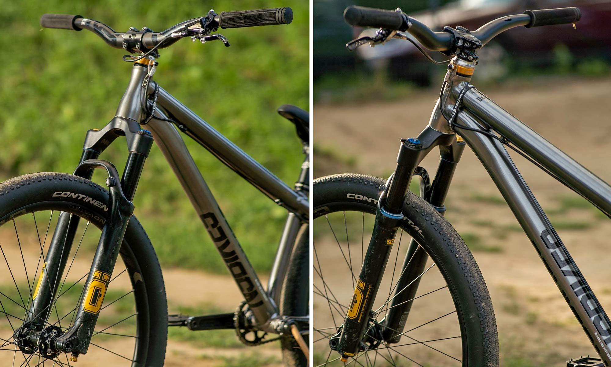 Szymon Godziek NS Bikes Decade, Ohlins fork