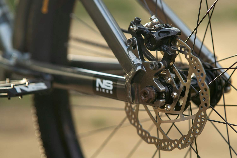 Szymon Godziek NS Bikes Decade rear end