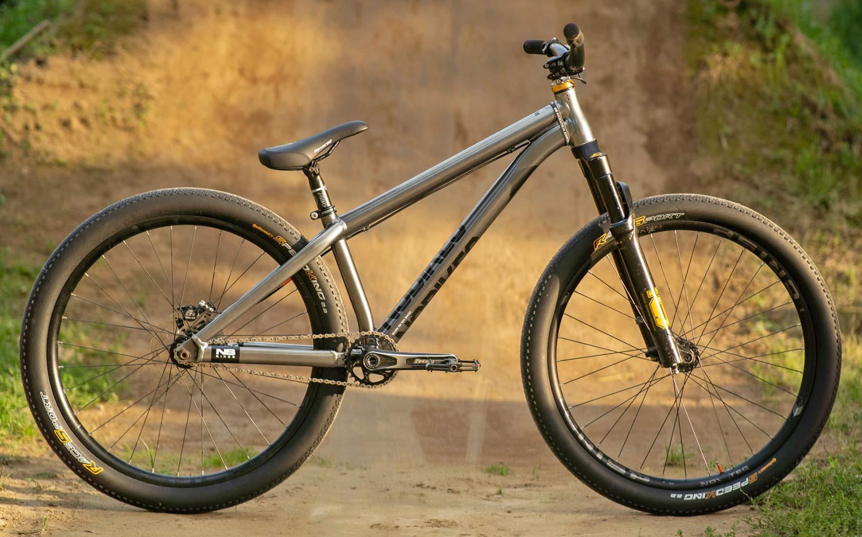 Szymon Godziek NS Bikes Decade chrome complete