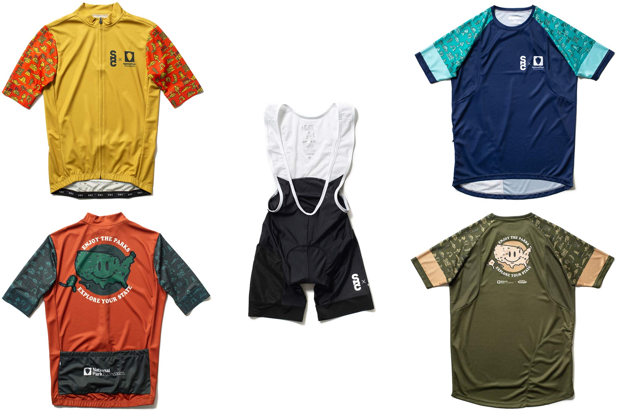 State X NPF collection, State Bicycle x National Park Foundation limited-edition bikes & gear,cycling kit