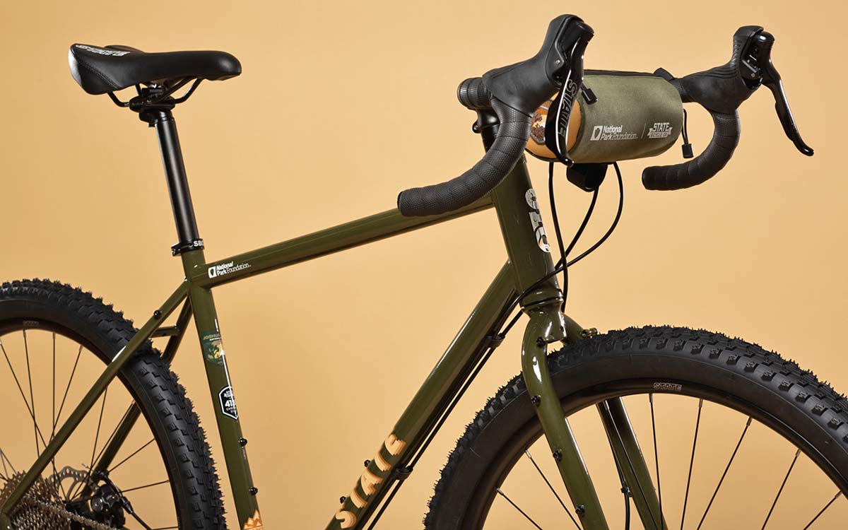 State X NPF collection, State Bicycle x National Park Foundation limited-edition bikes & gear,Joshua Tree 4130 All-Road bike