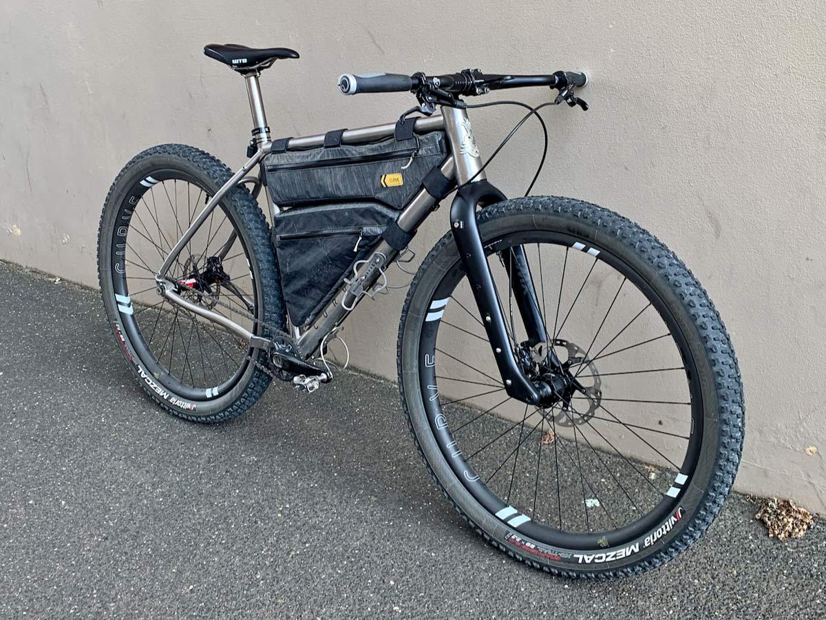 Curve Remlaw gravel adventure flat bar, forwardswept & backswept MTB bikepacking bar,GMX+