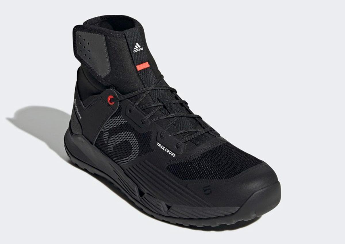 five ten trailcross gtx waterproof flat pedal mtb shoe black