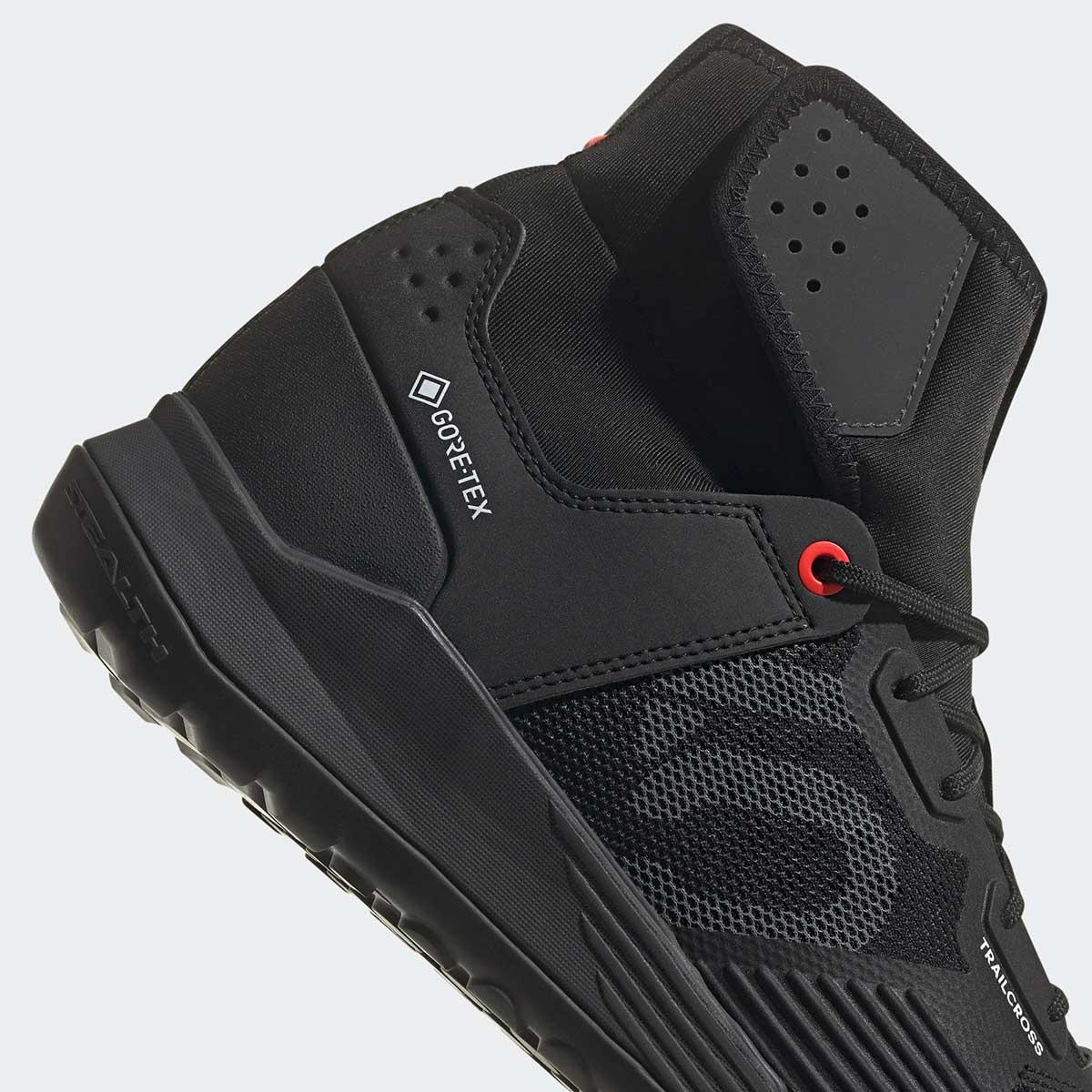 five ten trailcross gtx goretex lined flat pedal mtb shoe winter riding