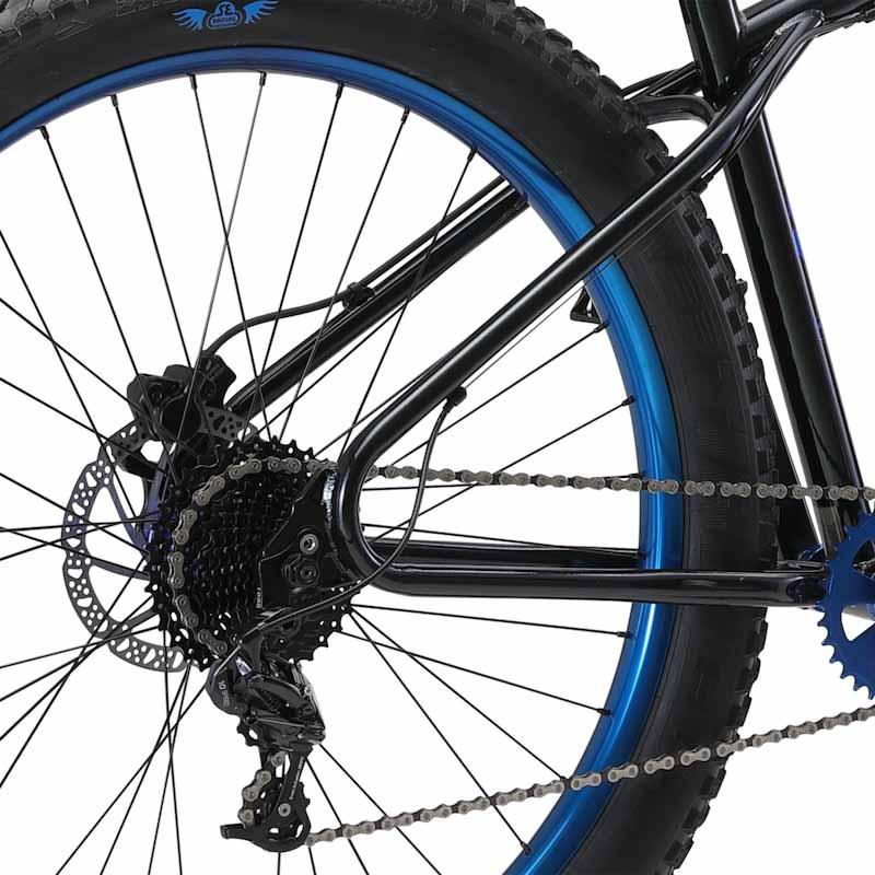 SE Bikes OM-Duro, drivetrain
