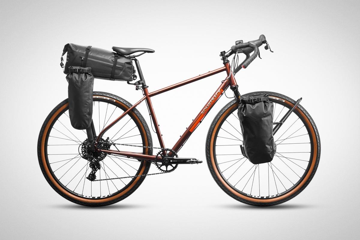 Tailfin Mini Pannier on Bombtrack bike