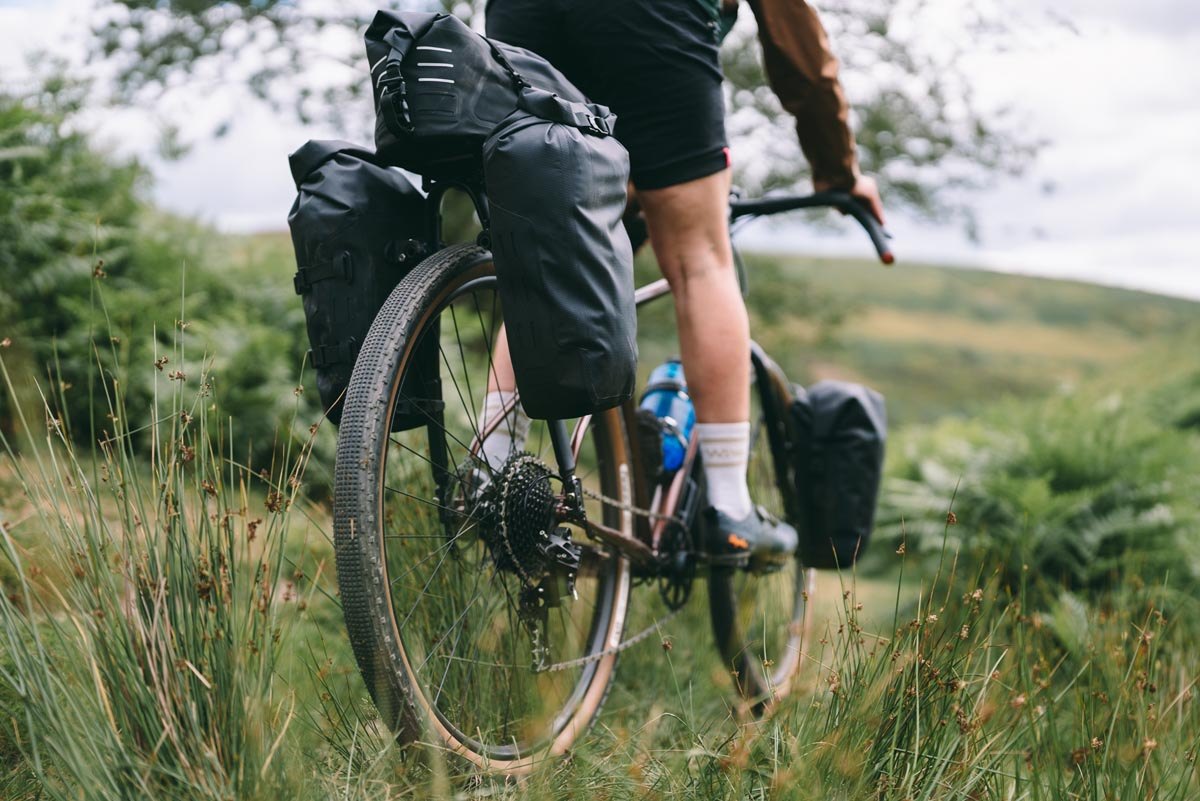 bikepacking with panniers