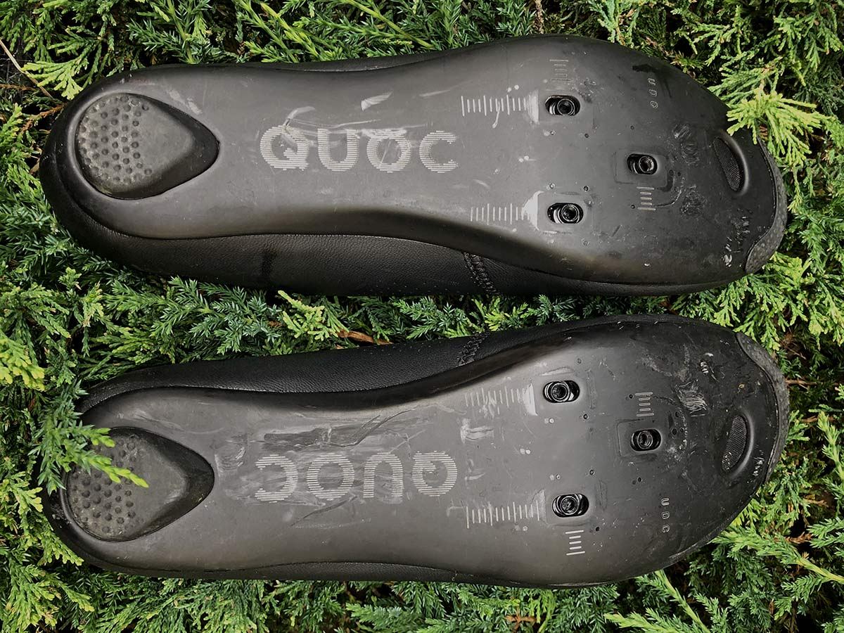 Quoc Mono II lightweight carbon-soled road cycling shoes Review,UD carbon outsole