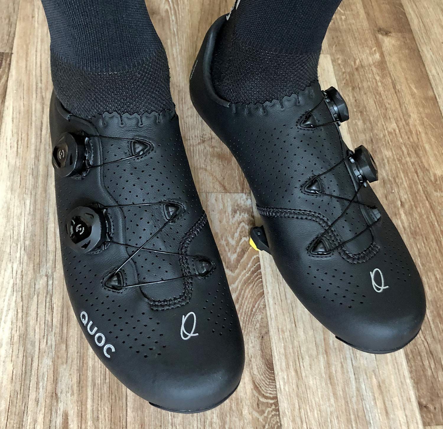 Quoc Mono II lightweight carbon-soled road cycling shoes Review,fit