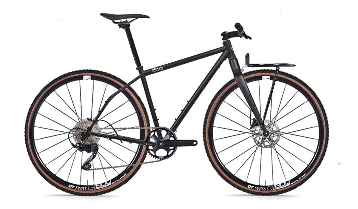 8bar Tflsberg steel off-road adventure bikepacking mountain bike, flat bar build