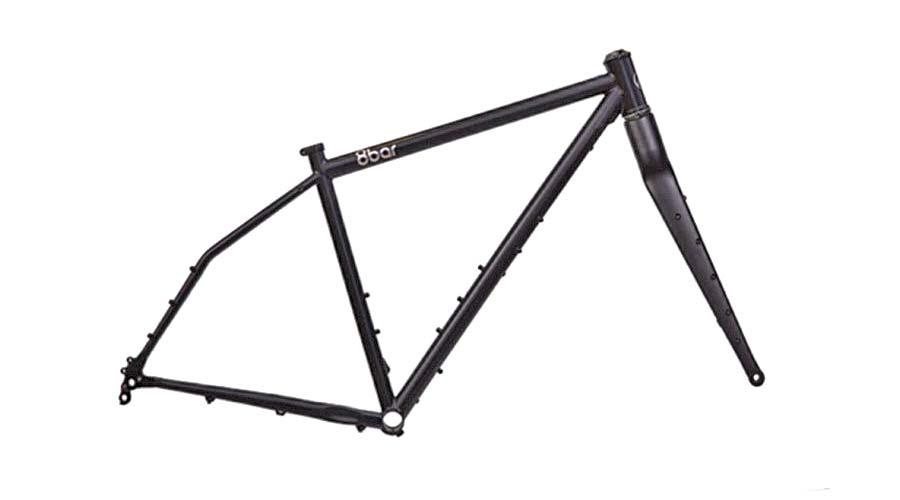 8bar Tflsberg steel off-road adventure bikepacking mountain bike, frameset