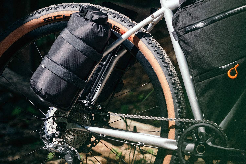 8bar Tflsberg steel off-road adventure bikepacking mountain bike, photo by Stefan Haehnel,rear end