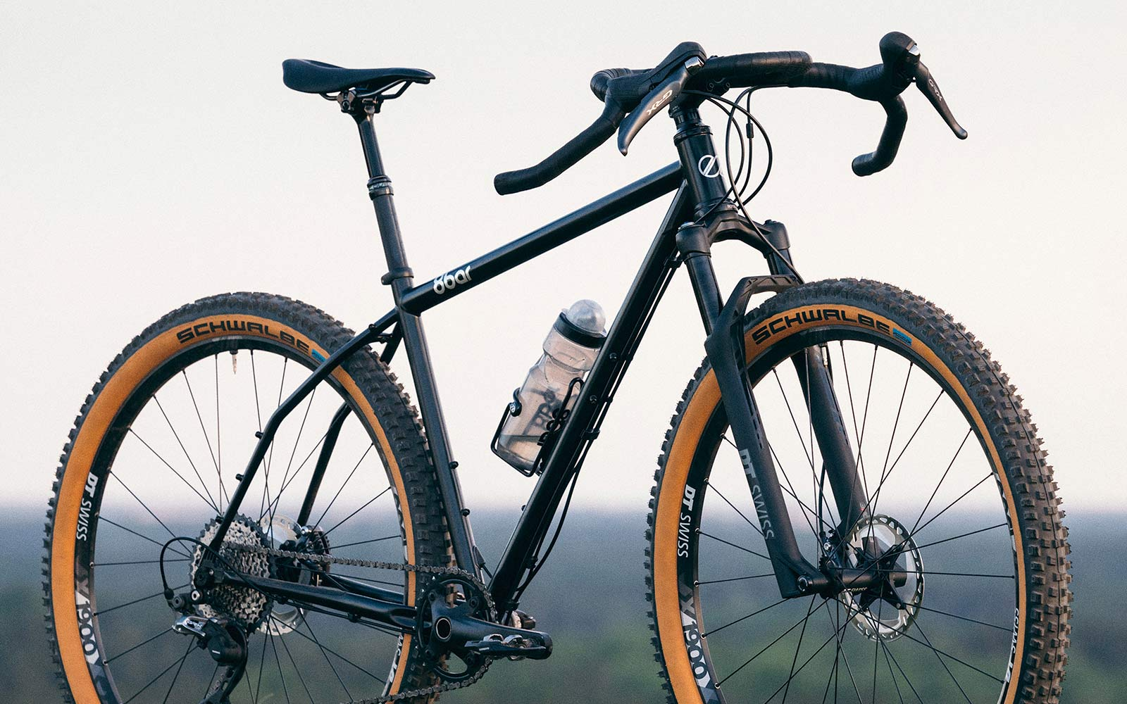 8bar Tflsberg steel off-road adventure bikepacking mountain bike, photo by Stefan Haehnel,angled detail