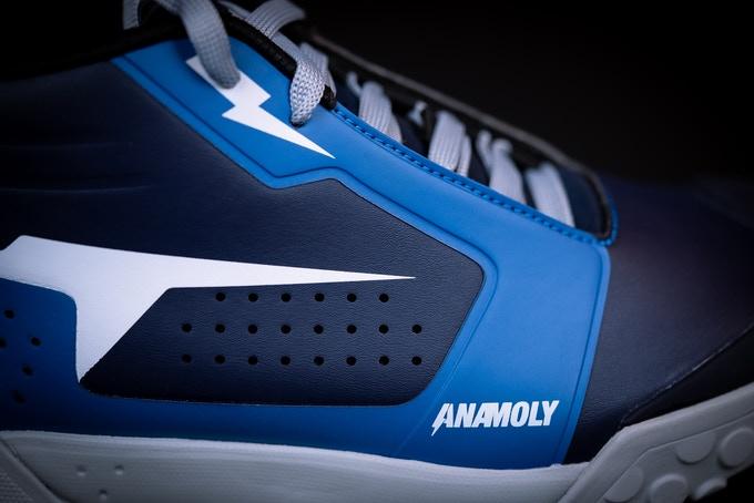 anamoly mtb shoes blue flats