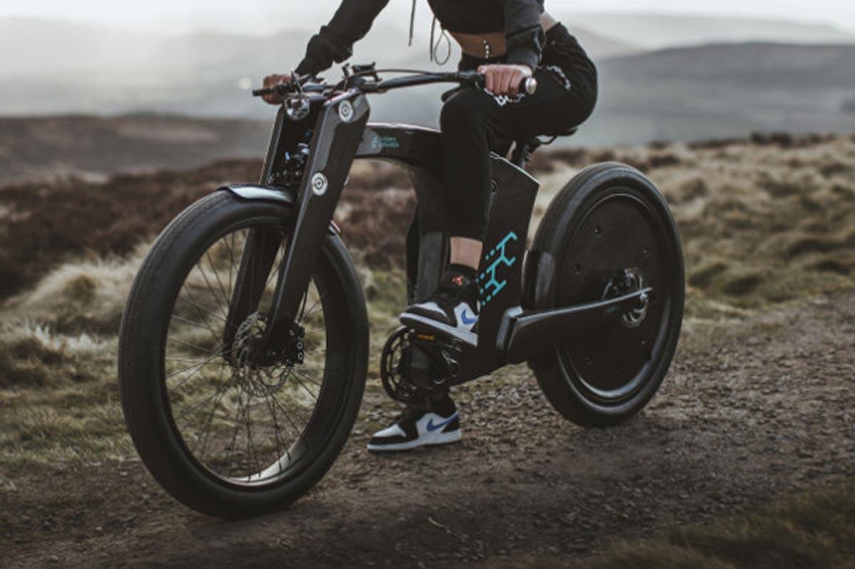 crowncruiser ebike off road riding